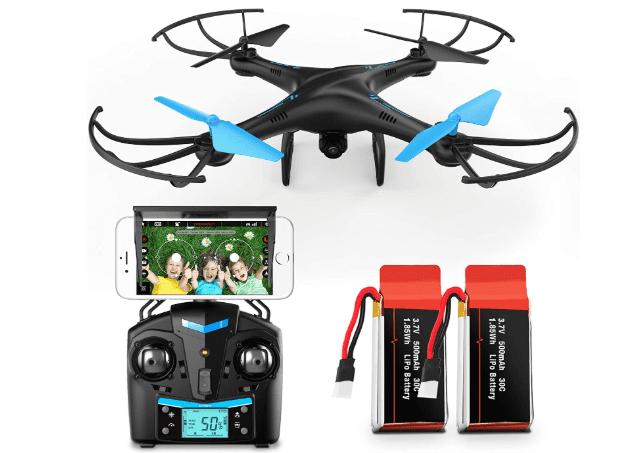 Force1 U45W Blue Jay Wi-Fi FPV Drone Review